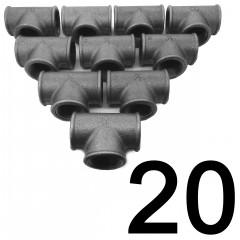 20DB T-IDOM 3/4 COL NATÚR ECO IDOM SZETTEK