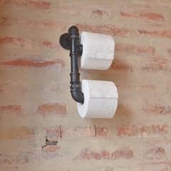 DUPLA WC-PAPÍR TARTÓ FEKETE WC-PAPÍR TARTÓ